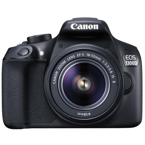 Цифровая фотокамера Canon EOS 1300D 18-55+75-300 RUK
