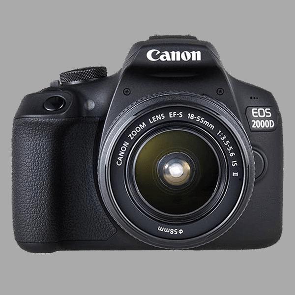 Цифровая фотокамера Canon EOS 2000D EF-S 18-55 IS II Kit