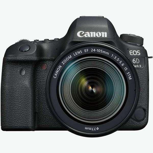 Цифровая зеркальная фотокамера Canon EOS 6D MARK II EF 24-105 IS STM Kit