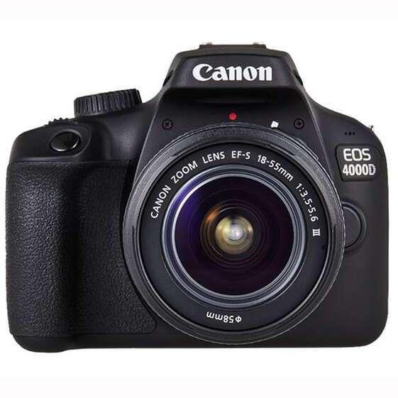 Цифровая зеркальная фотокамера Canon EOS 4000D BK BODY 18-55 RUK
