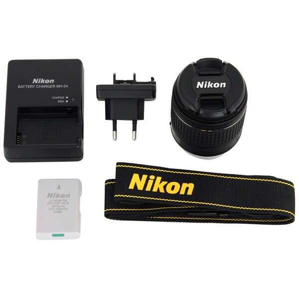 Зеркальный фотоаппарат Nikon  D3400 Kit AF-P 18-55 VR (DX)
