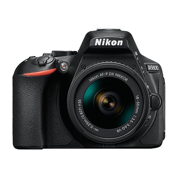 Зеркальная фотокамера Nikon D5600 (DX) (BK) + AF-P 18-55 VR (DX)
