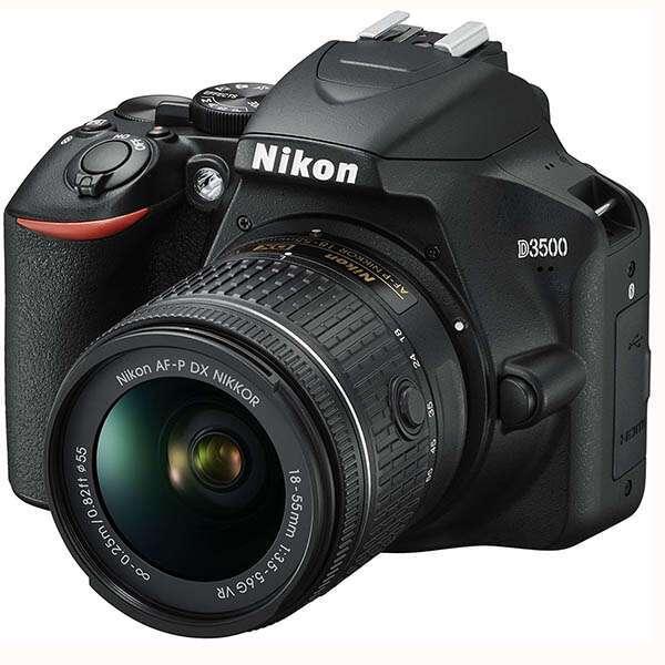 Цифровая зеркальная фотокамера Nikon D3500 + AF-P 18-55VR KIT