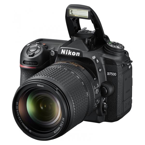 Цифровая зеркальная фотокамера Nikon D7500 + 18-140 VR