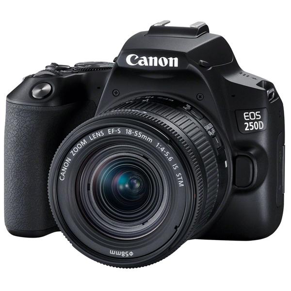 Цифровая зеркальная фотокамера Canon EOS 250D BK 18-55 S CP EU26