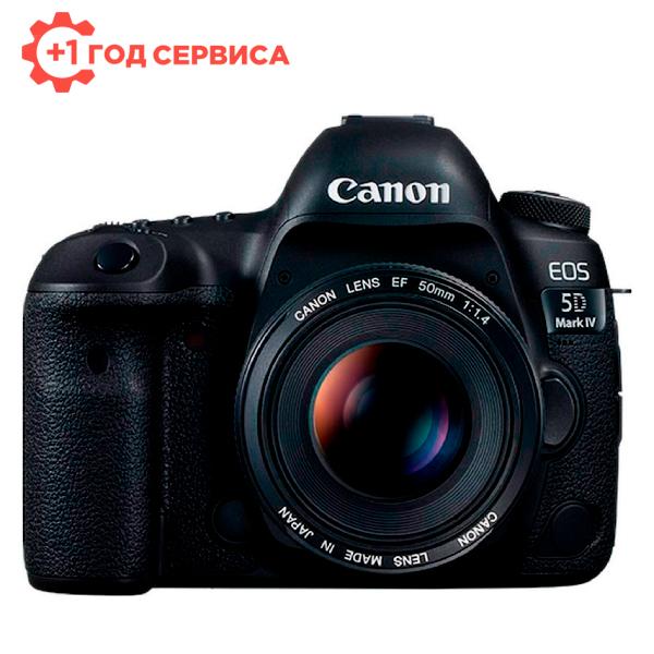 Зеркальная фотокамера Canon EOS 5D Mark IV Body