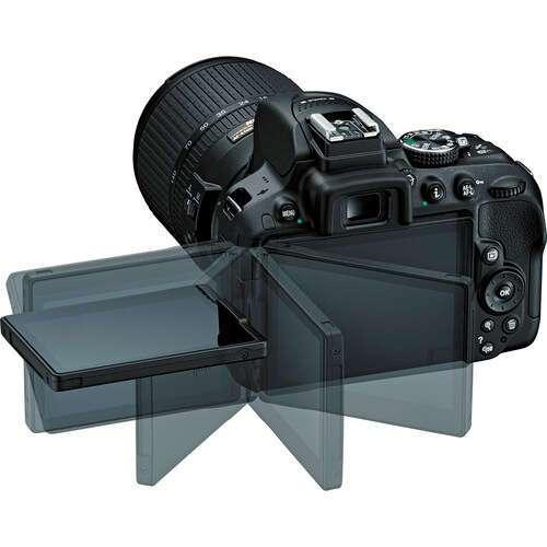 Цифровая зеркальная фотокамера Nikon D5300 kit + 18-140 VR black