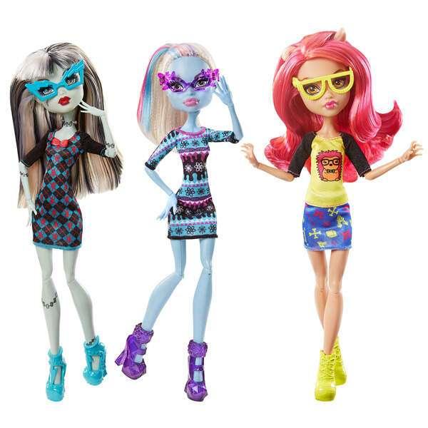 """Кукла Monster High """"Учёные монстры"""" CGG96"""