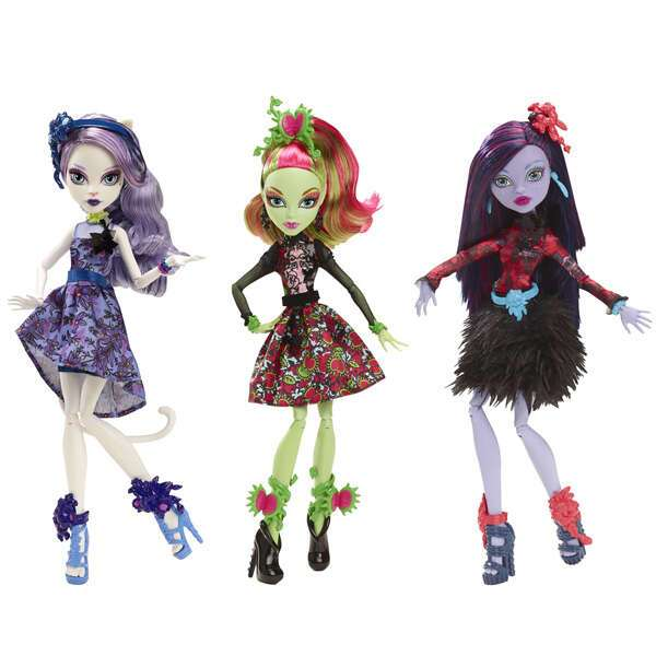 """Кукла Monster High Вечеринка """"Мрак и цветение"""". CDC05"""