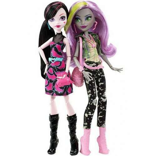 Кукла Monster High Дракулаура и Моаника (DNY33)