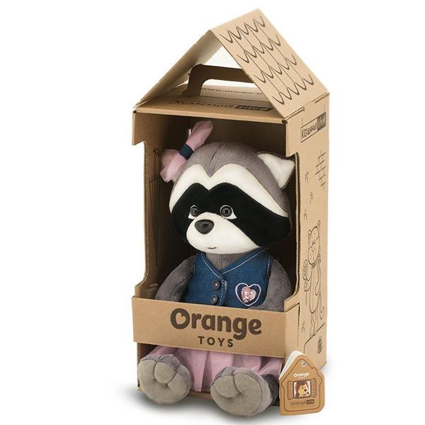 Мягкая игрушка Orange Енотик Дэйзи, Джинсовая вечеринка 25см