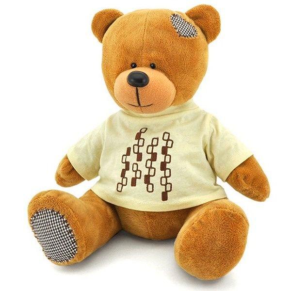 Мягкая игрушка Orange Медведь Топтыжкин 30см коричневый
