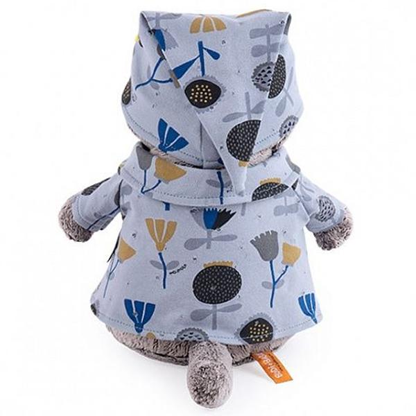 Мягкая игрушка Basik Басик в голубой пижаме в цветочек