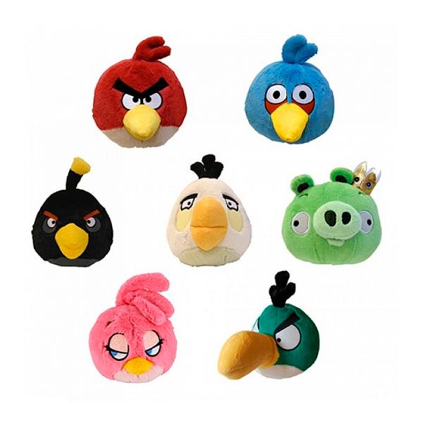 Мягкая игрушка Elfina Angry Birds плюшевый в ассортименте 5 дюймов со звуком (ABCP 90794I)