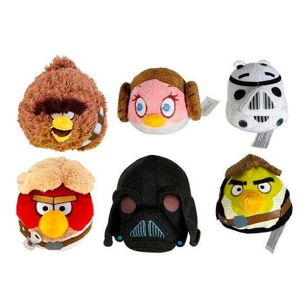 Мягкая игрушка Elfina Angry Birds Star Wars плюшевый в ассортименте 5 дюймов (13 см) (ABCP 93165 )