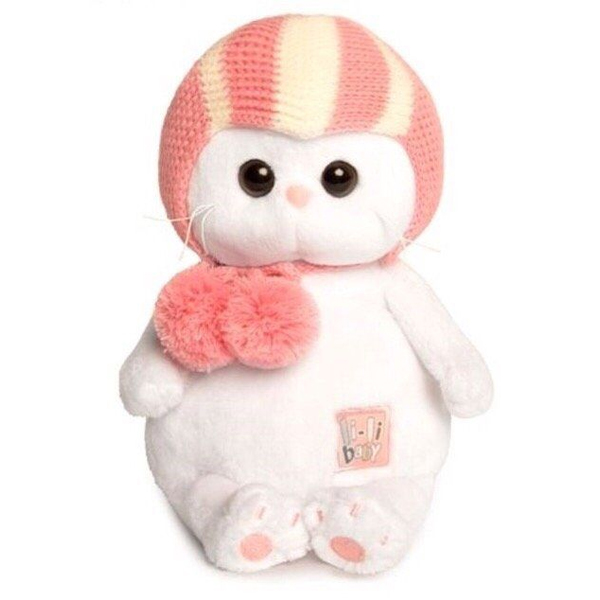 Мягкая игрушка Budi Basa Ли-Ли BABY в спортивной шапке 20 см