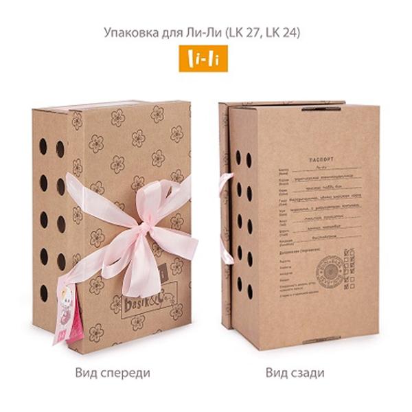 Мягкая игрушка Budi Basa Ли-Ли с букетом