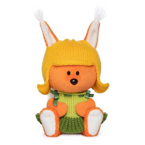 Мягкая игрушка Budi Basa Белка Бика в шапочке и платье 15см