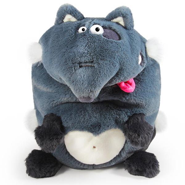 Мягкая игрушка Budi Basa Волк коллекция Кармашки 21 см