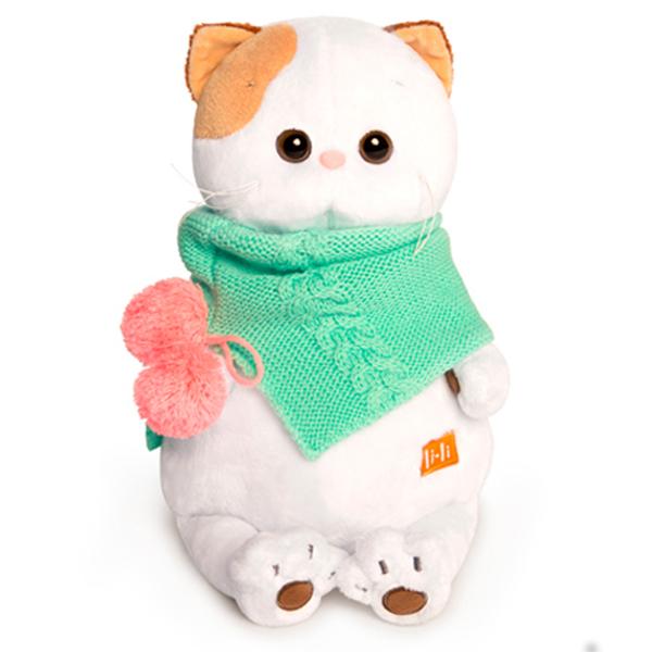 Мягкая игрушка Budi Basa Лили в бирюзовом снуде