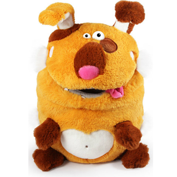 Мягкая игрушка Budi Basa Пёс коллекция Кармашки, 21 см