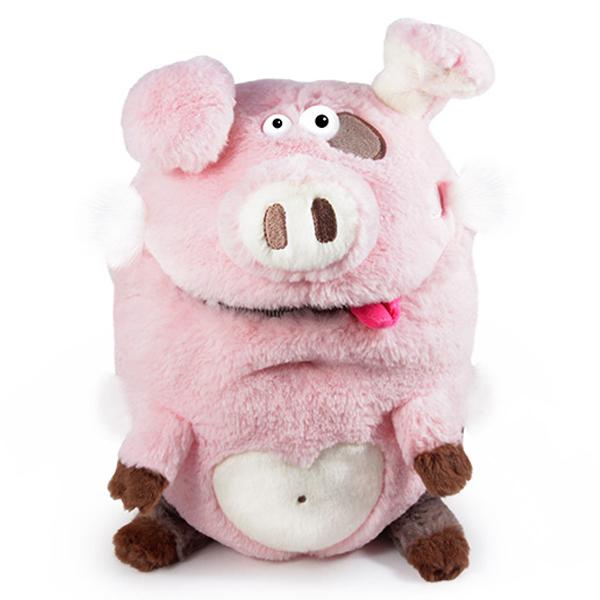 Мягкая игрушка Budi Basa Свинка коллекция Кармашки 21 см