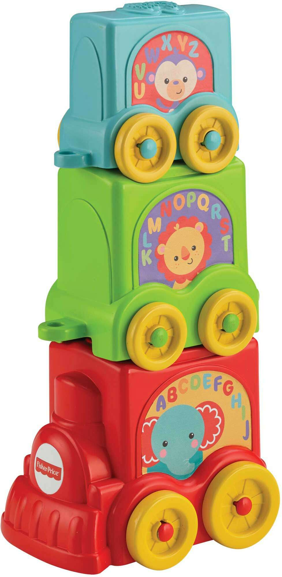 Игрушка для малышей Fisher-Price Веселый паровозик CBP38