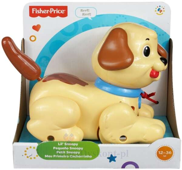 "Игрушка для малышей Fisher-Price Щенок ""Снупи"" H9447"