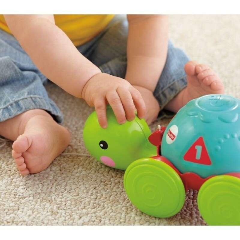 """Игрушка для малышей Fisher-Price Каталка """"Ученая черепашка"""" Y8652"""