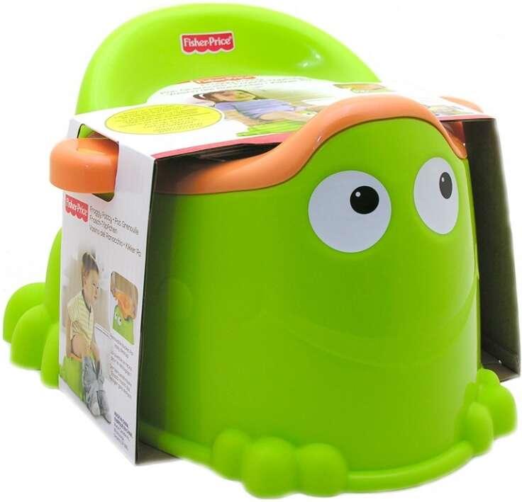"""Игрушка для малышей Fisher-Price Горшок """"Зеленая лягушка"""" X4808"""