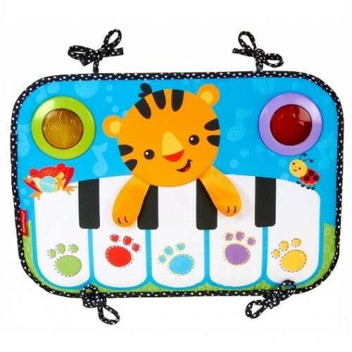 Игрушка для малышей Fisher-Price Смейся и учись Мягкое пианино CCW02