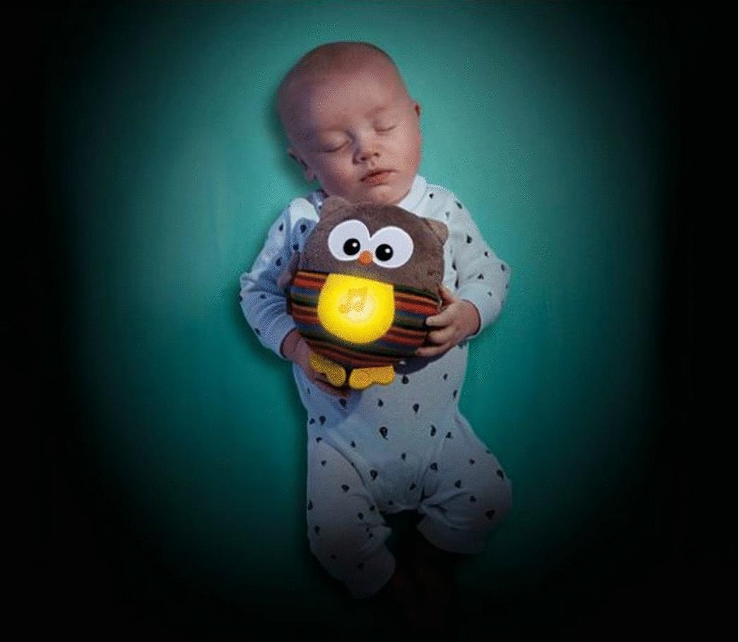 """Игрушка для малышей Fisher-Price Игрушка для сна """"Светящая Сова"""" CDN55"""