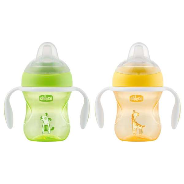 Поильник Chicco Transition Cup 4m+ Neutral, 1шт