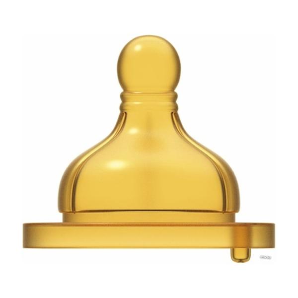 Соска для бутылочек Chicco Wellbeing латекс для каши 6м+ (2 шт)
