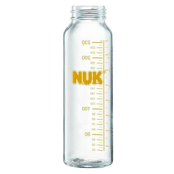 Бутылка Nuk Klinik 230 мл стекло