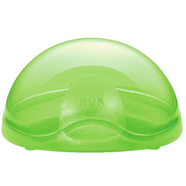 Бокс для пустышки NUK зеленый