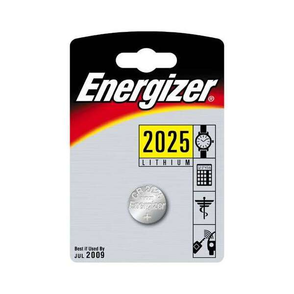 Батарейка Energizer Lithium CR2025 FSB1