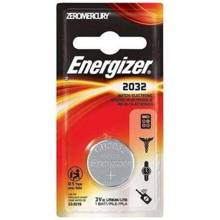Батарейка Energizer Lithium CR2032 PIP1