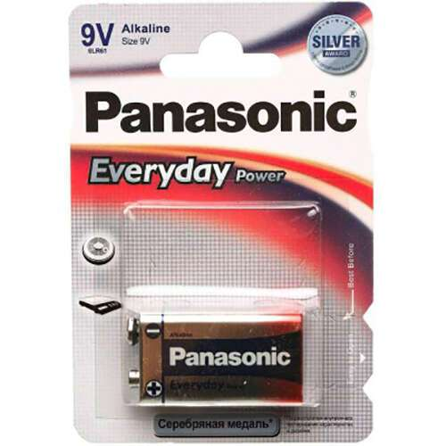 Батарейка Panasonic Every Day Power 6LF22EPS/1BP крона