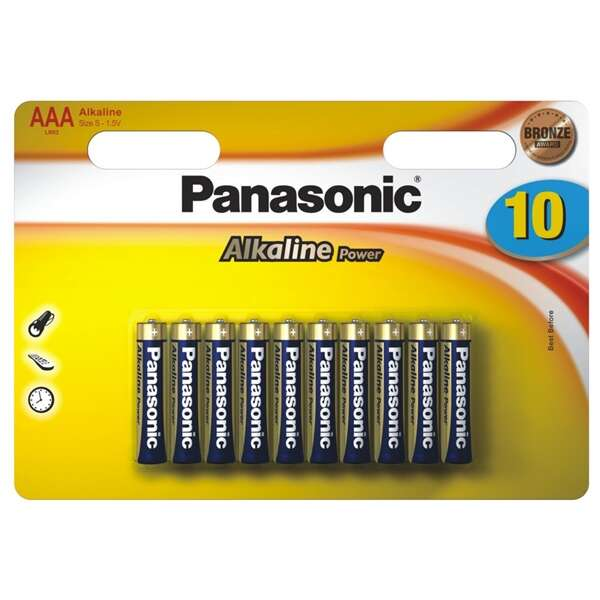 Батарейка Panasonic Alkaline Power LR03APB (10 шт)