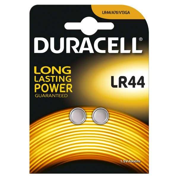 Щелочная батарейка Duracell LR44