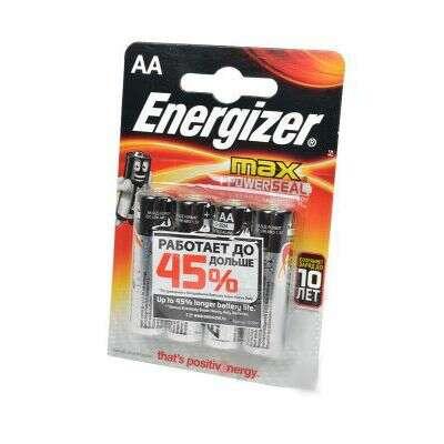 Батарейка Energizer LR6 4AA MAX