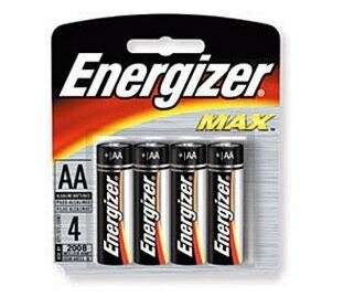 Батарейка Energizer LR6 3+1AA MAXIMUM