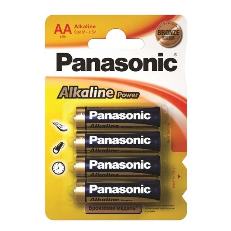 Батарейка Panasonic Alkaline Power Promo pack AA4B (LR6REB/4BPS)