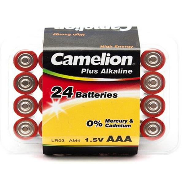 Батарейка CAMELION Plus Alkaline LR03-PB24 (24шт)