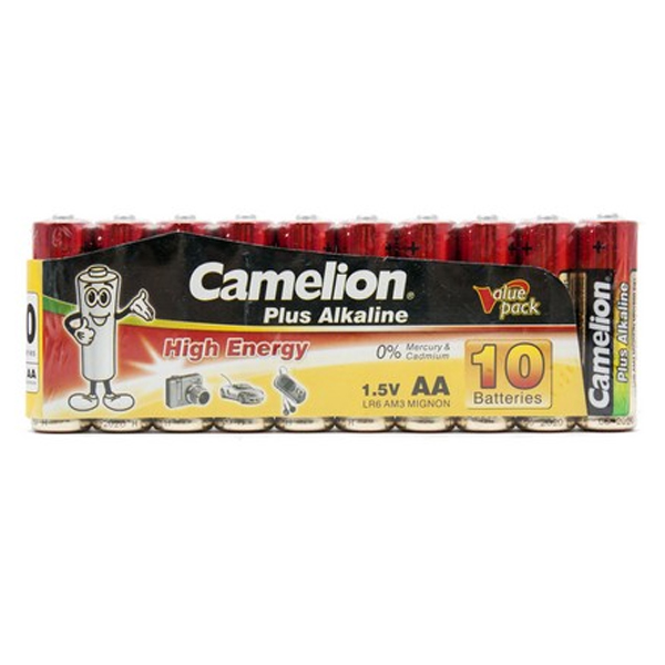 Батарейка CAMELION Plus Alkaline LR6-SP10-DA (10шт)