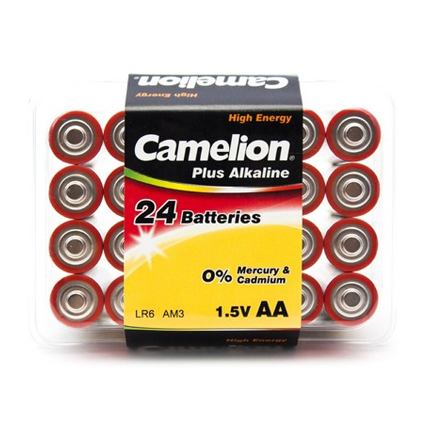 Батарейка CAMELION Plus Alkaline LR6-PB24 (24шт)
