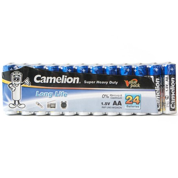 Батарейка CAMELION Super Heavy Duty R6P-SP24B (24шт)