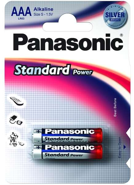 Батарейки PANASONIC LR 03 SPS/2BP