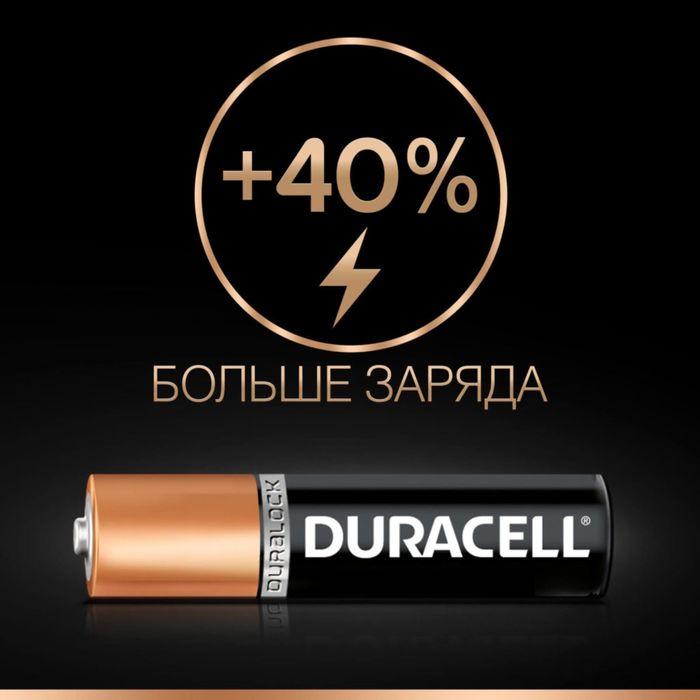 Батарейка алкалиновая Duracell Basic, AAA, LR03-18BL, 1.5В, блистер, 18 шт.